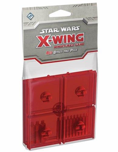 Star Wars X-Wing: Red Bases & Pegs