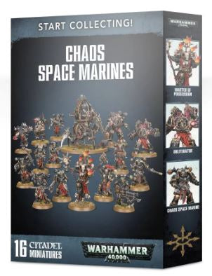 70-40 Start Collecting! Chaos Space Marines (new 2019)