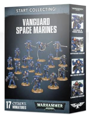70-42 Start Collecting! Vanguard Space Marines