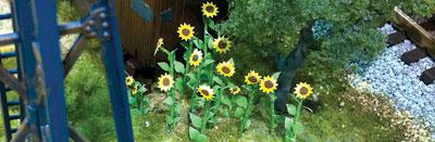 Sunflowers 25mm