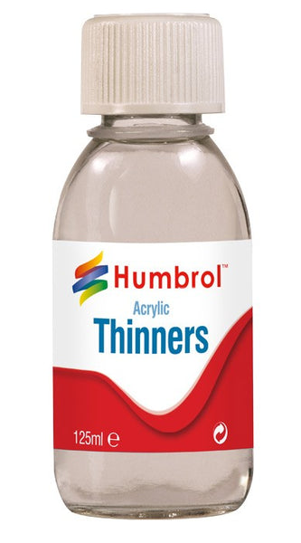 Humbrol Acrylic Thinners 125ml
