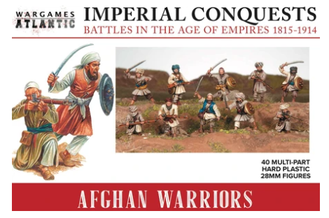 Afgan Warriors - 40x 28mm Warriors