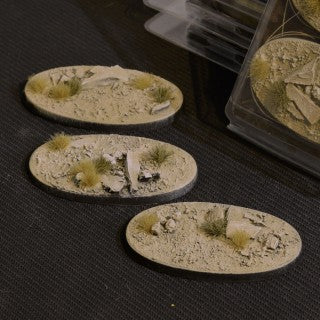 Arid Steppe Bases Oval 75mm (3)