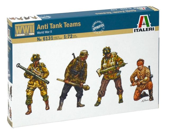 1/72 Anti-Tank Teams (WWII)