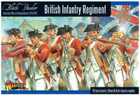 AWI British Infantry Regiment