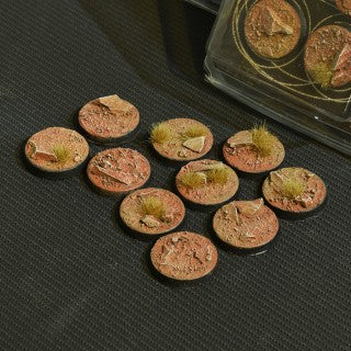 Badlands Bases Round 25mm (10)