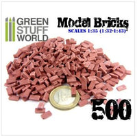 Model Bricks -  Red (500)