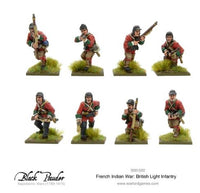 French Indian War: British Light Infantry
