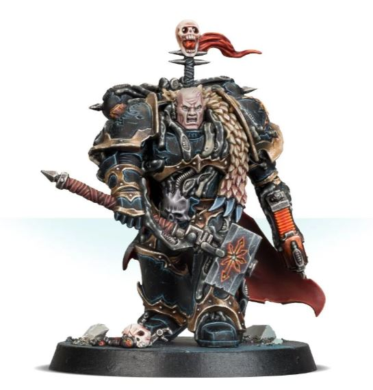 Chaos Space Marines Chaos Lord w/ Hammer 2019