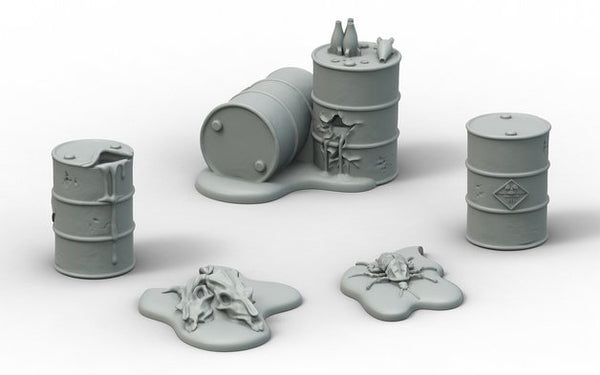 Fallout: Wasteland Warfare Terrain Expansion: Radioactive Containers