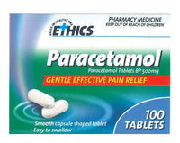 ETHICS Paracetamol 500mg 100 CS tab
