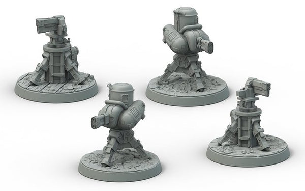 Fallout: Wasteland Warfare Terrain Expansion: Turrets