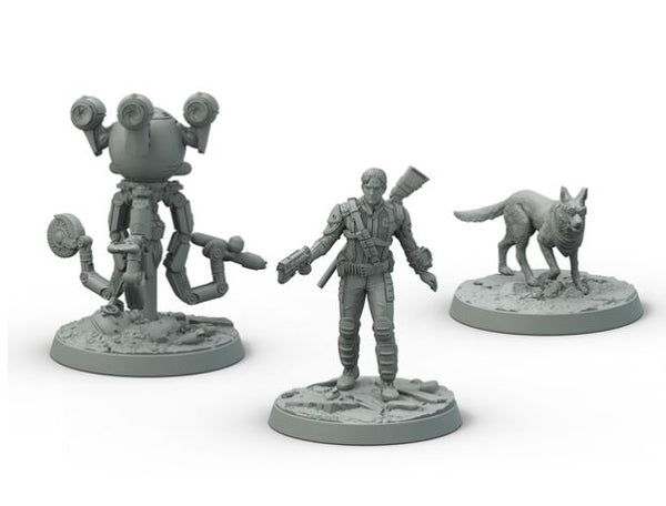 Fallout: Wasteland Warfare Survivors- Heroes of Sanctuary Hills