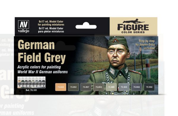 German Field Grey Model Color Set