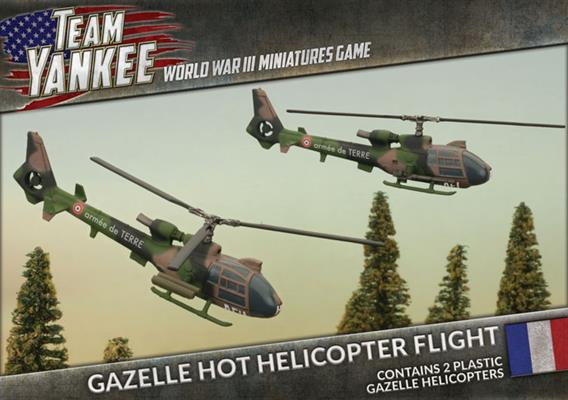 Gazelle HOT Helicopter Flight