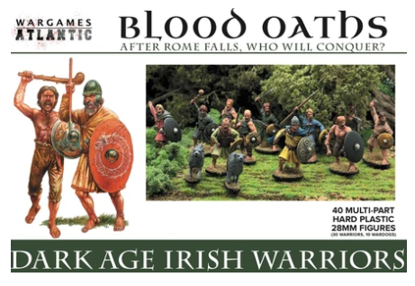 Dark Age Irish Warriors - 30x 28mm Dark Age Warriors