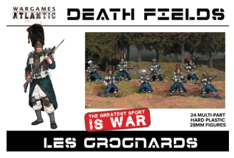 Les Grognards - 24 x 28mm Sci-fi Figures