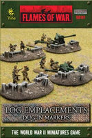 Log Emplacements - Dug in Markers