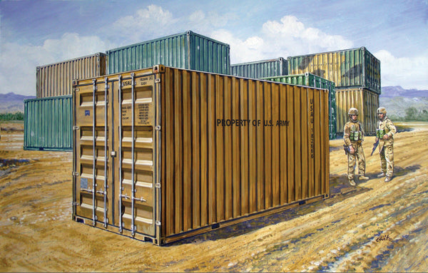 1/35 20' Military Container