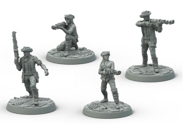 Fallout: Wasteland Warfare Survivors Minutemen Posse