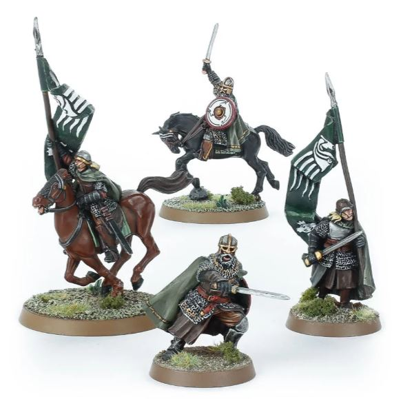 Mounted Rohan Command