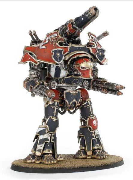 Warbringer Nemesis Titan with Quake Cannon, Volcano Cannon and Laser Blaster