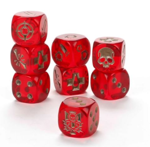 Necromunda: House Of Chains Dice