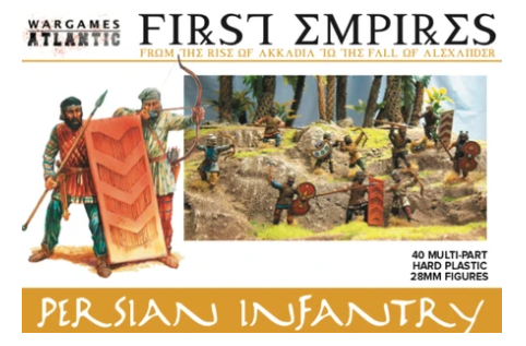 Persian Infantry - 40x 28mm First Empires Warriors