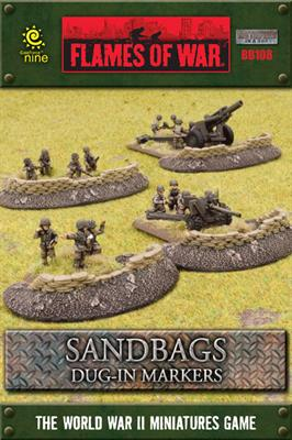 Sandbags - Dug in Markers