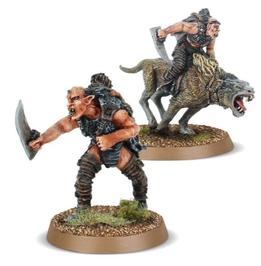 Sharku, Warg Rider Captain