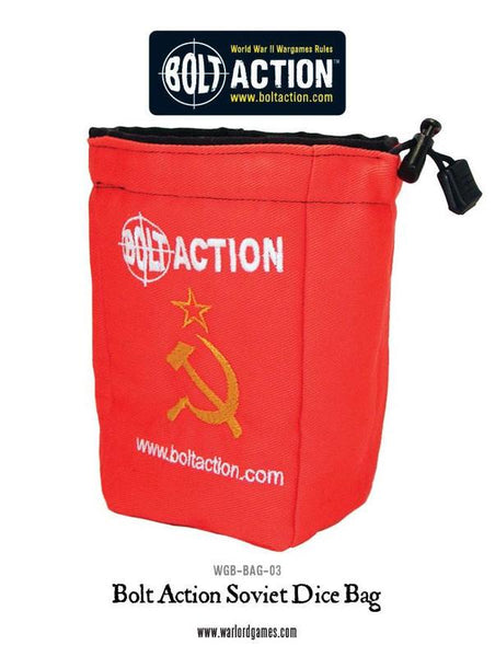 Bolt Action Soviet Dice Bag & Dice