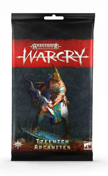 Warcry: Tzeentch Arcanites Cards