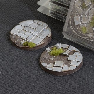 Temple Bases Round 60mm (x2)