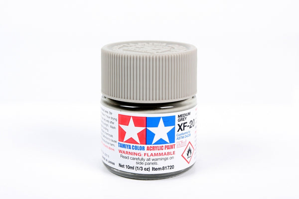 XF20 Acrylic Medium Grey 10ml