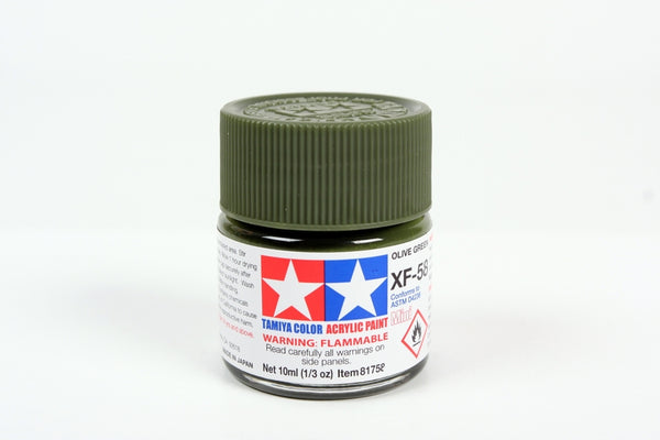 XF58 Acrylic Olive Green 10ml
