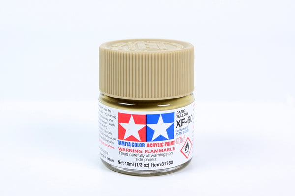 XF60 Acrylic Dark Yellow 10ml