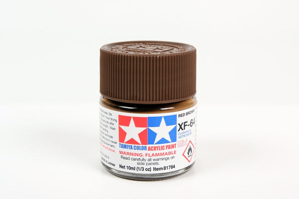 XF64 Acrylic Red Brown 10ml