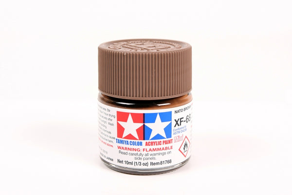 XF68 Acrylic Nato Brown 10ml