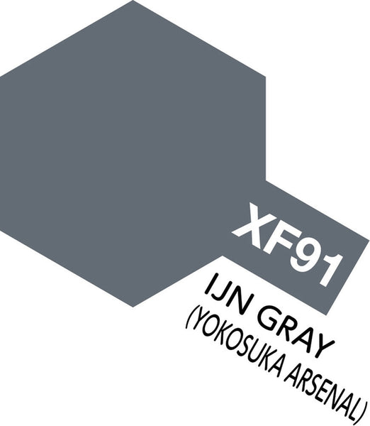 XF91 Acrylic IJN Grey (Yokosuka Arsenal) 10ml