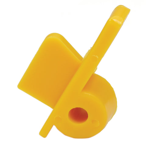 Yellow Long Plastic Insert for Stainless Steel Heads