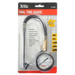 Dial Tire Guage High Pressure, Dual Foot (0-160PSI)