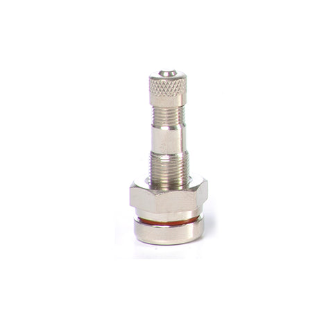 "1 1/4"" Nickel Plated Truck Valve, Straight (TR 542)"