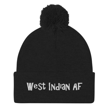 West Indian AF Pom-Pom Beanie