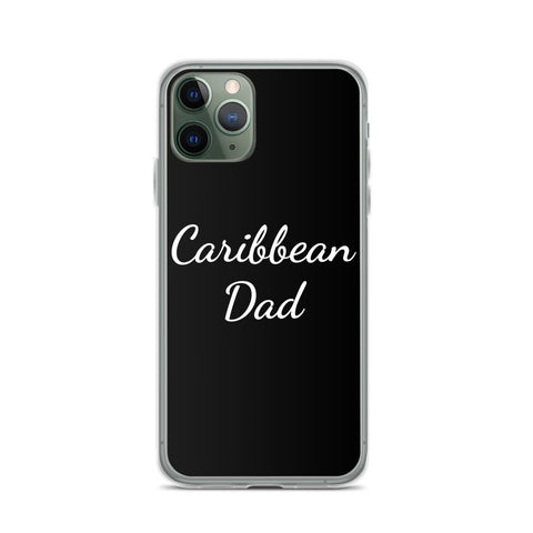 Caribbean Dad iPhone Case