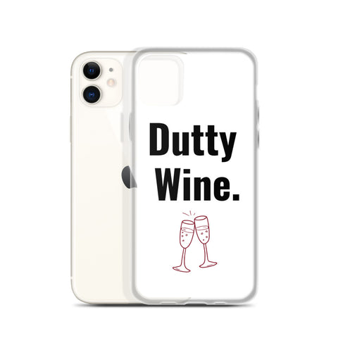Dutty Wine iPhone Case