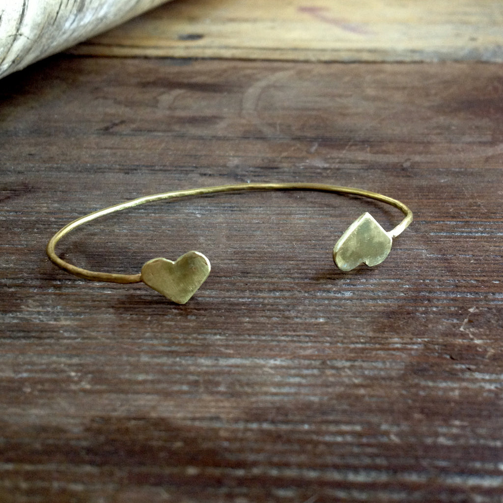 dueling hearts cuff