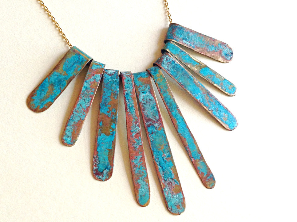 Patina Whimsey Necklace