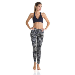 7/8 Eco Legging - Black Cheetah - Ipanema