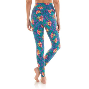 Ultra High-Waist 7/8 Eco Legging - Ankara - Ipanema