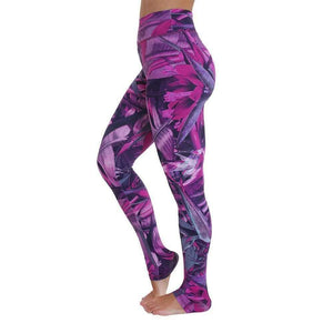 Om Legging - Pink Forest Print - Ipanema